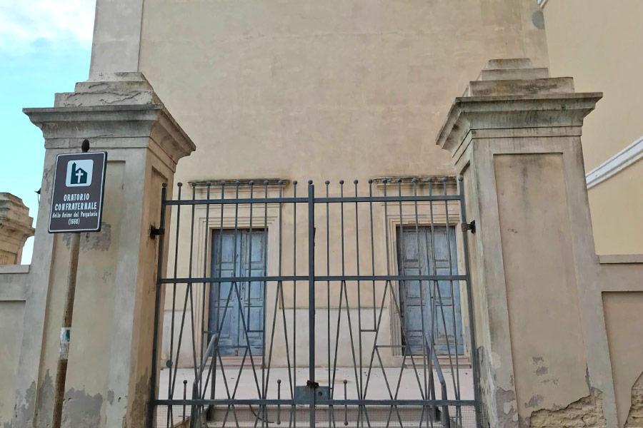 Chiesa delle anime del Purgatorio di Gallipoli