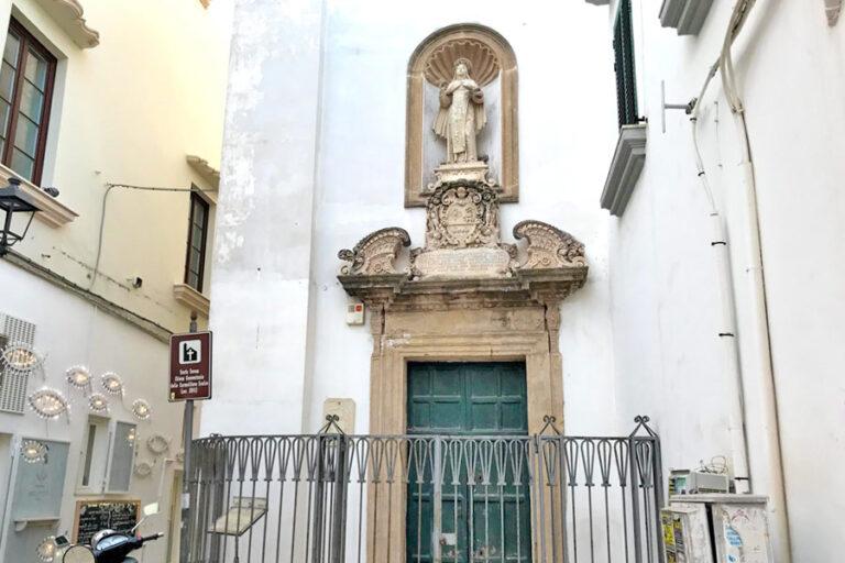 Esterno della chiesa convento di Santa Teresa