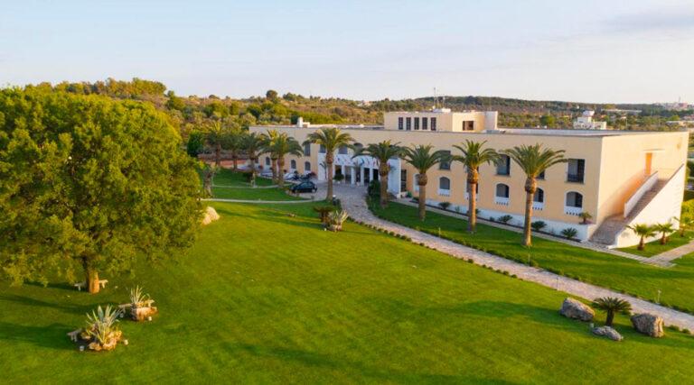 Gallipoli reso Ort villaggio situato nell'entroterra gallipolino