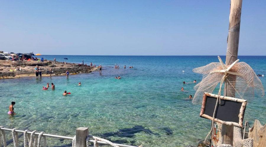 Il mare al Cotriero a Gallipoli