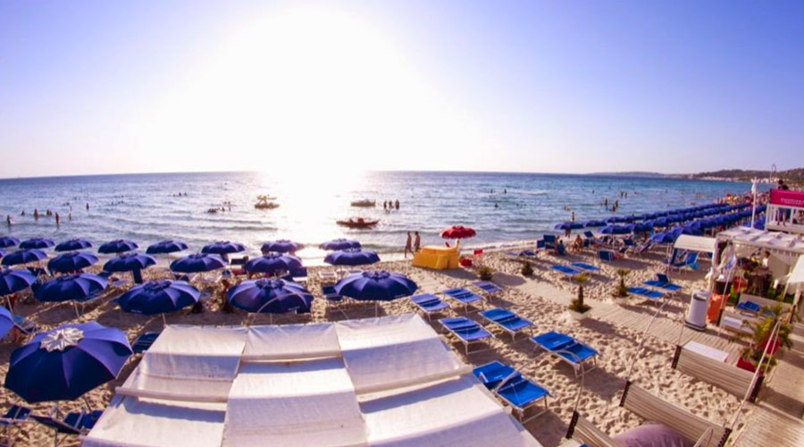 Lido Holiday beach rivabella Gallipoli