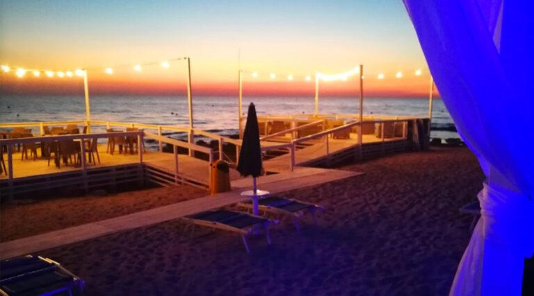 Lido Oasi beach a Rivabella di Gallipoli