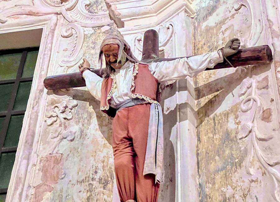 Cappella del Malladrone nella chiesa di San Francesco d'Assisi a Gallipoli