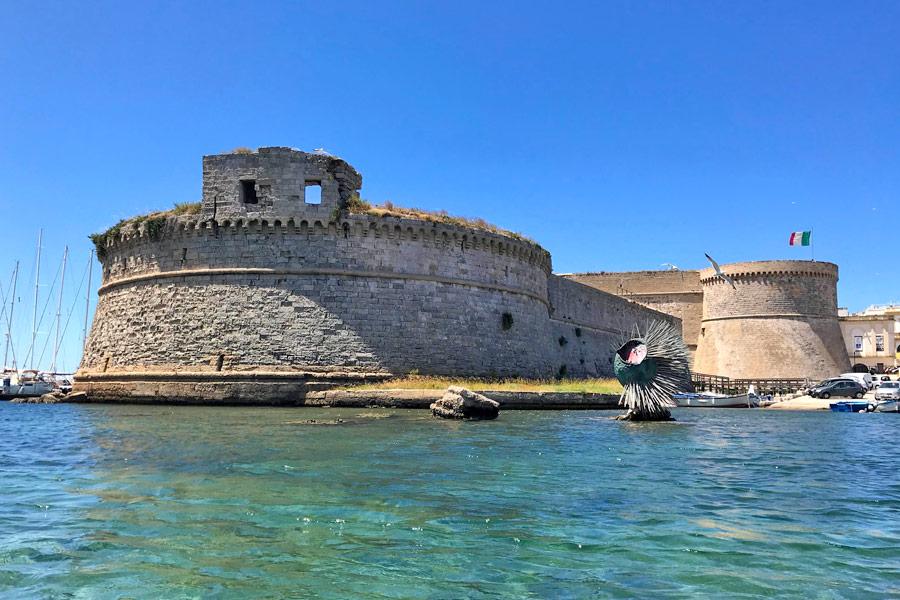 Torre del Rivellino a Gallipoli