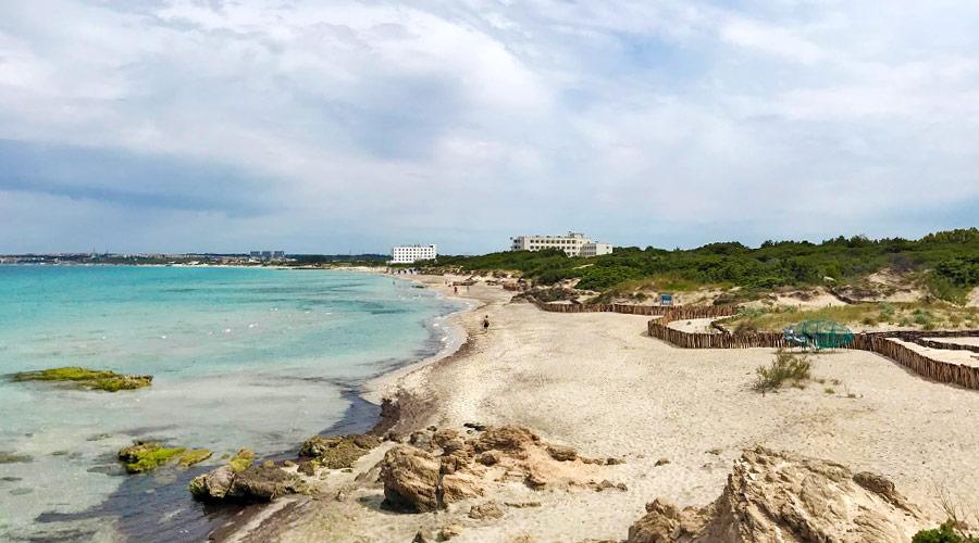 Spiaggia degli innamorati o dei Foggi a Gallipoli