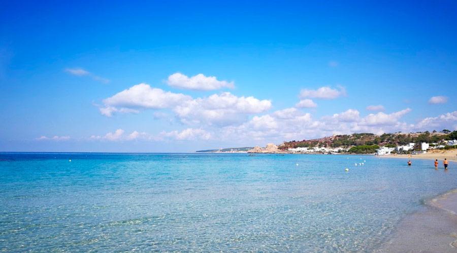 Spiaggia in zona Padula Bianca - Rivabella
