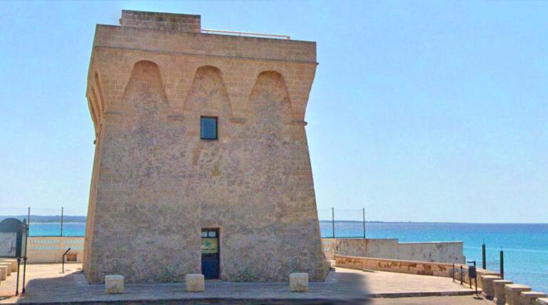 Torre San Giovanni la pedata a Gallipoli